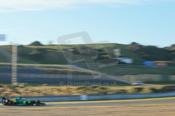 World © Octane Photographic Ltd. Formula 1 Winter testing, Jerez, 8th February 2013. Caterham CT03, Charles Pic. Digital Ref: 0574lw1d9873