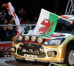 World © Octane Photographic Ltd./Louise Tope. WRC GB 14th November 2013. Robert Kubica. Digital Ref. : 0874ltd31182