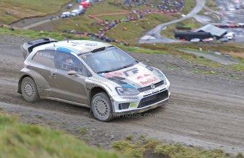 World © Octane Photographic Ltd./Louise Tope. WRC GB 15th November 2013. Digital Ref. : 0874ltd31248