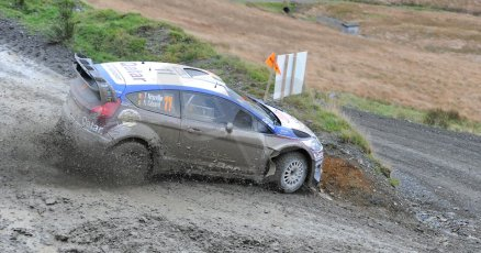 World © Octane Photographic Ltd./Louise Tope. WRC GB 15th November 2013. Digital Ref. : 0874ltd31834
