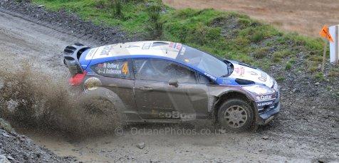 World © Octane Photographic Ltd./Louise Tope. WRC GB 15th November 2013. Digital Ref. : 0874ltd31876