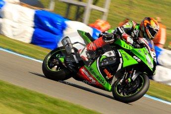 World © Octane Photographic Ltd. World Superbikes (SBK) European GP – Donington Park – Free Practice. Kawasaki Racing Team – Kawasaki ZX-10R – Loris Baz. Saturday 25th May 2013. Digital Ref : 0698ce1d3309