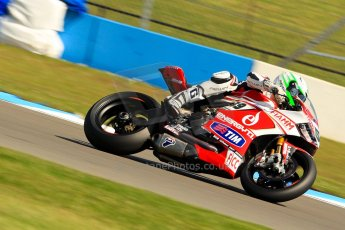 World © Octane Photographic Ltd. World Superbikes (SBK) European GP – Donington Park – Free Practice. Team Ducati Alstare - Ducati 1199 Panigale R – Niccolo Canepa. Saturday 25th May 2013. Digital Ref : 0698ce1d3316