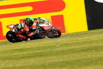 World © Octane Photographic Ltd. World Superbikes (SBK) European GP – Donington Park – Free Practice. Aprilia Racing Team – Aprilia RSV4 Factory – Eugene Laverty. Saturday 25th May 2013. Digital Ref : 0698ce1d3501