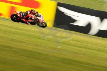World © Octane Photographic Ltd. World Superbikes (SBK) European GP – Donington Park – Free Practice. Aprilia Racing Team – Aprilia RSV4 Factory – Sylvain Guintoli. Saturday 25th May 2013. Digital Ref : 0698ce1d3512