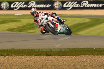 World © Octane Photographic Ltd. World Superbikes (SBK) European GP – Donington Park – Qualifying Practice. Pata Honda World Superbike – Honda CBR-1000RR – Jonathan Rea. Saturday 25th May 2013. Digital Ref :