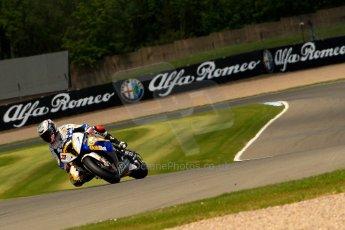 World © Octane Photographic Ltd. World Superbikes (SBK) European GP – Donington Park – Qualifying Practice. BMW Motorrad GoldBet SBK – BMW S1000RR – Marco Melandri. Saturday 25th May 2013. Digital Ref :