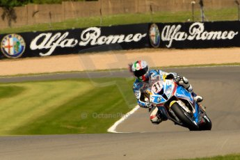 World © Octane Photographic Ltd. World Superbikes (SBK) European GP – Donington Park – Qualifying Practice. Grillini Dentalmatic SBK – BMW S1000RR – Vittorio Iannuzzo. Saturday 25th May 2013. Digital Ref :