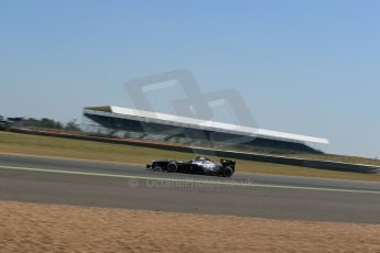 World © Octane Photographic Ltd. Formula 1 - Young Driver Test - Silverstone. Friday 19th July 2013. Day 3. Williams FW35 - Susie Wolff. Digital Ref : 0755lw1d0013