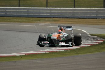 World © Octane Photographic Ltd. Formula 1 - Young Driver Test - Silverstone. Friday 19th July 2013. Day 3. Sahara Force India VJM06  - Adrian Sutil. Digital Ref :0755lw1d0049