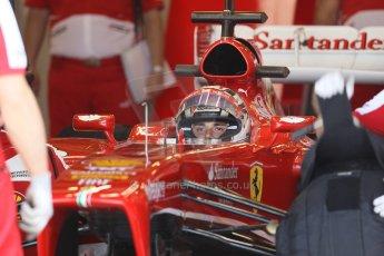 World © Octane Photographic Ltd. Formula 1 - Young Driver Test - Silverstone. Friday 19th July 2013. Day 3. Scuderia Ferrari F138 – Davide Rigon. Digital Ref : 0755lw1d0264