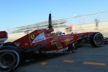 World © Octane Photographic Ltd. Formula 1 - Young Driver Test - Silverstone. Friday 19th July 2013. Day 3. Scuderia Ferrari F138 – Felipe Massa. Digital Ref : 0755lw1d9976