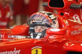 World © Octane Photographic Ltd. Formula 1 - Young Driver Test - Silverstone. Thursday 18th July 2013. Day 2. Scuderia Ferrari F138 - Davide Rigon. Digital Ref : 0753lw1d6000