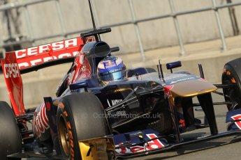 World © Octane Photographic Ltd. Formula 1 - Young Driver Test - Silverstone. Thursday 18th July 2013. Day 2. Scuderia Toro Rosso STR8 - Daniel Ricciardo. Digital Ref : 0753lw1d6040
