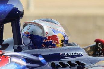 World © Octane Photographic Ltd. Formula 1 - Young Driver Test - Silverstone. Thursday 18th July 2013. Day 2. Scuderia Toro Rosso STR8 - Daniel Ricciardo. Digital Ref : 0753lw1d6051