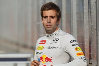 World © Octane Photographic Ltd. Formula 1 - Young Driver Test - Silverstone. Thursday 18th July 2013. Day 2. Infiniti Red Bull Racing RB9 - Antonio Felix da Costa. Digital Ref : 0753lw1d6086