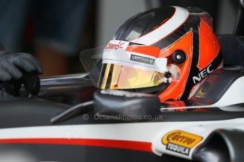 World © Octane Photographic Ltd. Formula 1 - Young Driver Test - Silverstone. Thursday 18th July 2013. Day 2. Sauber C32 - Nico Hülkenberg. Digital Ref : 0753lw1d6464