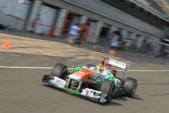 World © Octane Photographic Ltd. Formula 1 - Young Driver Test - Silverstone. Thursday 18th July 2013. Day 2. Sahara Force India VJM06  - James Calado. Digital Ref : 0753lw1d9147