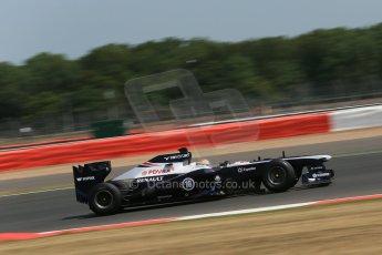 World © Octane Photographic Ltd. Formula 1 - Young Driver Test - Silverstone. Thursday 18th July 2013. Day 2. Williams FW35 - Pastor Maldonado. Digital Ref : 0753lw1d9302