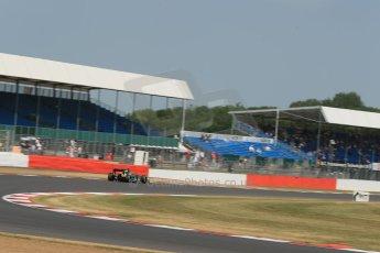 World © Octane Photographic Ltd. Formula 1 - Young Driver Test - Silverstone. Thursday 18th July 2013. Day 2. Caterham F1 Team CT03 – Giedo Van Der Garde. Digital Ref : 0753lw1d9489