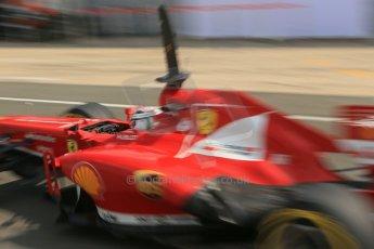 World © Octane Photographic Ltd. Formula 1 - Young Driver Test - Silverstone. Thursday 18th July 2013. Day 2. Scuderia Ferrari F138 - Davide Rigon. Digital Ref : 0753lw1d9677