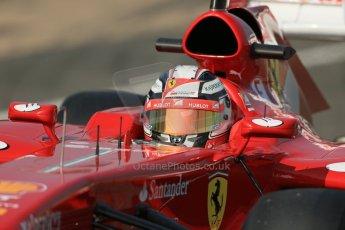 World © Octane Photographic Ltd. Formula 1 - Young Driver Test - Silverstone. Wednesday 17th July 2013. Day 1. Scuderia Ferrari F138 - Davide Rigon. Digital Ref : 0752lw1d8518