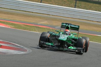 World © Octane Photographic Ltd. Formula 1 - Young Driver Test - Silverstone. Wednesday 17th July 2013. Day 1. Caterham F1 Team CT03 - Alex Rossi. Digital Ref : 0752lw1d8676