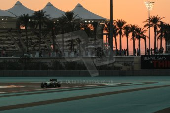 World © Octane Photographic Ltd. Friday 21st November 2014. Abu Dhabi Grand Prix - Yas Marina Circuit - Formula 1 Practice 2. Caterham F1 Team CT05 – William Stevens. Digital Ref: 1161CB1D7140