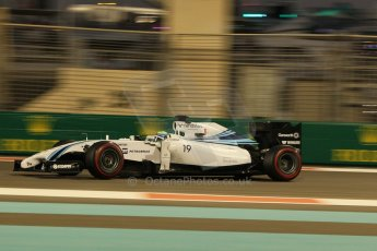 World © Octane Photographic Ltd. Friday 21st November 2014. Abu Dhabi Grand Prix - Yas Marina Circuit - Formula 1 Practice 2. Williams Martini Racing FW36 – Felipe Massa. Digital Ref: 1161CB1D7208