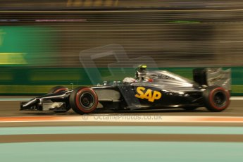 World © Octane Photographic Ltd. Friday 21st November 2014. Abu Dhabi Grand Prix - Yas Marina Circuit - Formula 1 Practice 2. McLaren Mercedes MP4/29 – Kevin Magnussen. Digital Ref: 1161CB1D7282