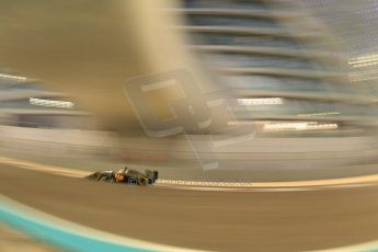 World © Octane Photographic Ltd. Friday 21st November 2014. Abu Dhabi Grand Prix - Yas Marina Circuit - Formula 1 Practice 2. McLaren Mercedes MP4/29 - Jenson Button. Digital Ref: 1161CB7D8139