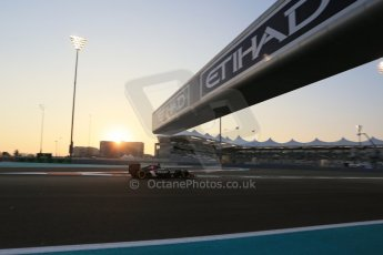 World © Octane Photographic Ltd. Friday 21st November 2014. Abu Dhabi Grand Prix - Yas Marina Circuit - Formula 1 Practice 2. Sauber C33 – Adrian Sutil. Digital Ref: 1161LB1D4643