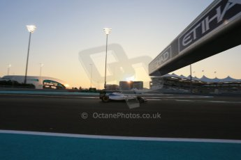 World © Octane Photographic Ltd. Friday 21st November 2014. Abu Dhabi Grand Prix - Yas Marina Circuit - Formula 1 Practice 2. Williams Martini Racing FW36 – Felipe Massa. Digital Ref: 1161LB1D4665