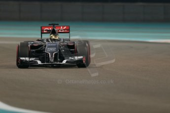 World © Octane Photographic Ltd. Friday 21st November 2014. Abu Dhabi Grand Prix - Yas Marina Circuit - Formula 1 Practice 2. Sauber C33 – Adrian Sutil. Digital Ref: 1161LB1D5114