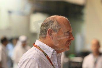 World © Octane Photographic Ltd. Sunday 23rd November 2014. Abu Dhabi Grand Prix - Yas Marina Circuit - Formula 1 Paddock. McLaren Mercedes - Ron Dennis. Digital Ref: 1173CB1D1411