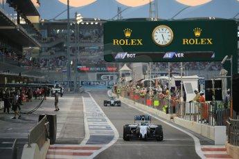 World © Octane Photographic Ltd. Saturday 22nd November 2014. Abu Dhabi Grand Prix - Yas Marina Circuit - Formula 1 Qualifying. Williams Martini Racing FW36 – Felipe Massa. Digital Ref: 1166LB1D1348