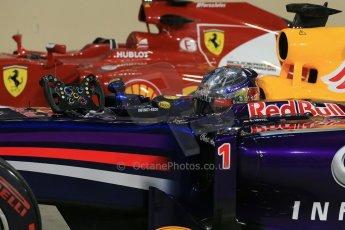 World © Octane Photographic Ltd. 2014 Formula 1 Abu Dhabi Grand Prix, F1 Qualifying, Saturday 22nd November 2014. Infiniti Red Bull Racing - Sebastian Vettel. Digital Ref : 1166LB1D1478