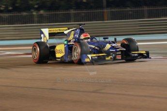 World © Octane Photographic Ltd. 2014 Formula 1 Abu Dhabi Grand Prix, GP2 Qualifying, Friday 21st November 2014. Felipe Nasr - Carlin. Digital Ref : 1162CB1D7347