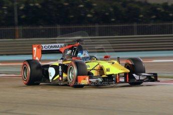 World © Octane Photographic Ltd. 2014 Formula 1 Abu Dhabi Grand Prix, GP2 Qualifying, Friday 21st November 2014. Jolyon Palmer - DAMS. Digital Ref : 1162CB1D7362