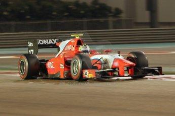 World © Octane Photographic Ltd. 2014 Formula 1 Abu Dhabi Grand Prix, GP2 Qualifying, Friday 21st November 2014. Andre Negrao - Arden International. Digital Ref : 1162CB1D7384