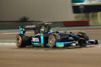 World © Octane Photographic Ltd. 2014 Formula 1 Abu Dhabi Grand Prix, GP2 Qualifying, Friday 21st November 2014. Conor Daly - Venezuela GP Lazarus. Digital Ref : 1162CB1D7413