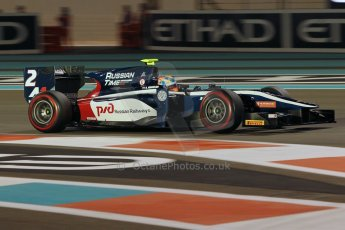 World © Octane Photographic Ltd. 2014 Formula 1 Abu Dhabi Grand Prix, GP2 Qualifying, Friday 21st November 2014. Artem Markelov - RT Russian Time. Digital Ref : 1162CB1D7474