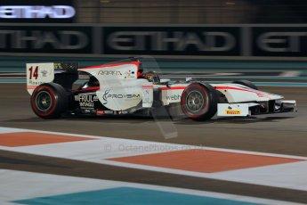 World © Octane Photographic Ltd. 2014 Formula 1 Abu Dhabi Grand Prix, GP2 Qualifying, Friday 21st November 2014. Kevin Giovesi - Rapax. Digital Ref : 1162CB1D7499
