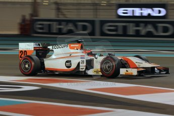 World © Octane Photographic Ltd. 2014 Formula 1 Abu Dhabi Grand Prix, GP2 Qualifying, Friday 21st November 2014. Daniel de Jong - MP Motorsport. Digital Ref : 1162CB1D7544