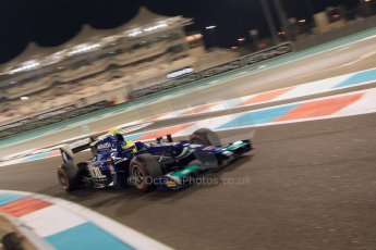 World © Octane Photographic Ltd. 2014 Formula 1 Abu Dhabi Grand Prix, GP2 Qualifying, Friday 21st November 2014. Julian Leal - Carlin. Digital Ref : 1162CB7D8235