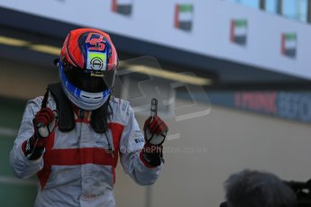 World © Octane Photographic Ltd.  Saturday 22nd November 2014. GP3 Qualifying – Abu Dhabi GP - Yas Marina Circuit, United Arab Emirates. Dean Stoneman. Koiranen GP. Digital Ref : 1164LB1D9907
