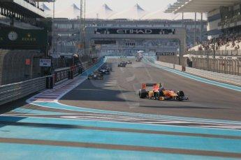 World © Octane Photographic Ltd. Sunday 23rd November 2014. GP2 Race 2 – Abu Dhabi GP - Yas Marina Circuit, United Arab Emirates. Stefano Coletti - Racing Engineering. Digital Ref :1170CB1D7022