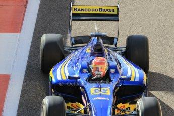 World © Octane Photographic Ltd. Sunday 23rd November 2014. GP2 Race 2 – Abu Dhabi GP - Yas Marina Circuit, United Arab Emirates. Felipe Nasr - Carlin. Digital Ref : 1170CB1D9257
