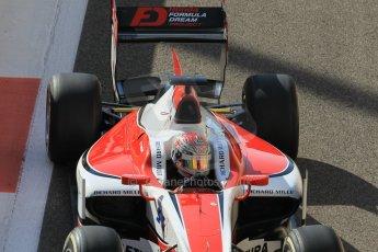 World © Octane Photographic Ltd. Sunday 23rd November 2014. GP2 Race 2 – Abu Dhabi GP - Yas Marina Circuit, United Arab Emirates. Takuya Izawa - ART Grand Prix. Digital Ref : 1170CB1D9260