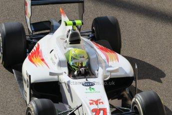 World © Octane Photographic Ltd. Sunday 23rd November 2014. GP2 Race 2 – Abu Dhabi GP - Yas Marina Circuit, United Arab Emirates. Kimiya Sato - Campos Racing. Digital Ref :1170CB1D9314